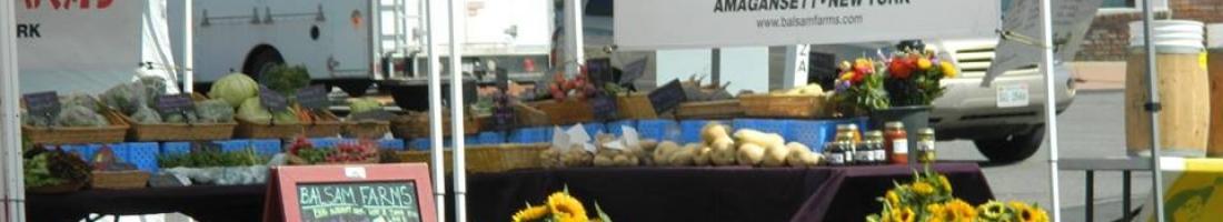 Montauk Farmers Market – Yay!