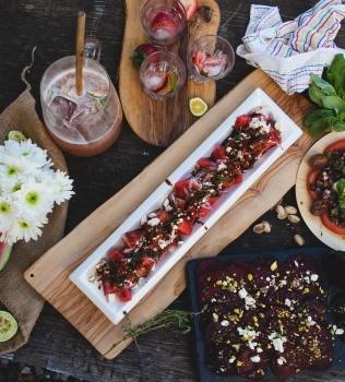 (RED) Watermelon Salad