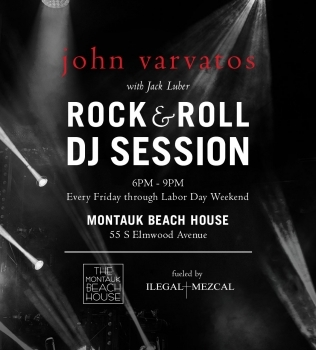 FRIDAYS – JOHN VARVATOS & ILEGAL ROCK & ROLL SESSIONS