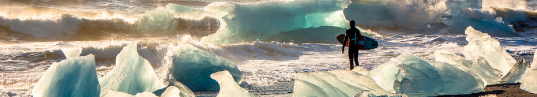 Chris Burkard – The Joy of Surfing in Ice-Cold Water (Video)